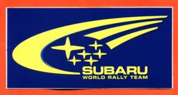 "Autocollant "" Subaru World Rally Team "" - Stickers"