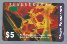 AU.- Telecom Phonecard $5. Marine Plankton. Australia AUSTRALIË. 0032920312 - Andere