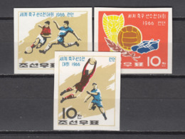 Football / Soccer / Fussball - WM 1966:  Korea  3 W (*), Imperf. - 1966 – England