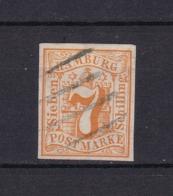 Hamburg - 1859 - Michel Nr. 6 - Gest. - 70 Euro - Hamburg