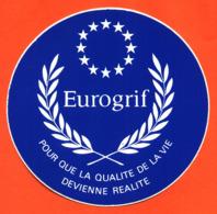"Autocollant "" Eurogrif "" - Stickers"