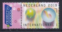 """Nederland - 18 Oktober 2019 - """"Gewoontjes"""" - Knikkers/taws/Murmeln/des Billes - MNH - Zegel 3 - Childhood & Youth"""