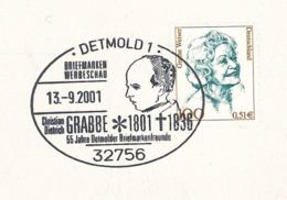 Literatur: Christian Dietrich Grabbe - Dramatiker Des Vormärz - SST 2001 - Writers