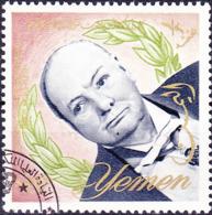 Jemen (Königreich Jemen) - Winston Churchill (MiNr: 155) 1965 - Gest Used Obl - Yemen