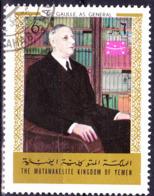 Jemen (Königreich Jemen) - Charles De Gaulle (MiNr: 1161) 1970 - Gest Used Obl - Yemen
