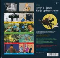 Tintin Au Cinéma – Feuille Noir Blanc Pour Abonnés De L'émission 2011 - Cómics