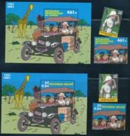 Tintin Au Congo – Belgique Et Rep Démocratique Du Congo – Fort T - Comics