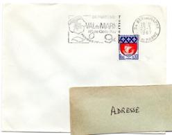 VAL De MARNE - Dépt N° 94 BRY Sur MARNE 1966 = FLAMME Codée = SECAP  ' N° De CODE POSTAL / PENSEZ-Y ' - Zipcode