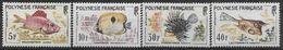 1962 POLYNESIE FRANCAISE 18-21** Poissons - Polynésie Française