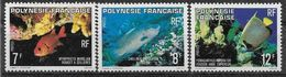 1980 POLYNESIE FRANCAISE 147-49 **  Poissons - Polynésie Française