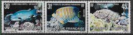 1982 POLYNESIE FRANCAISE 174-76** Poissons - Polynésie Française