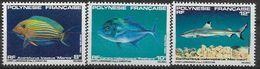 1982 POLYNESIE FRANCAISE 192-94** Poissons - Polynésie Française
