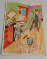 Enfin ! Les Vacances Et Le Repos ! :::: Humour - Couple -  Illustrateurs Signer ------------ 511 - Carrière, Louis