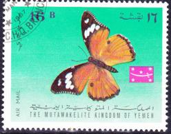 Jemen (Königreich Jemen) - Schmetterling (MiNr: 448) 1968 - Gest Used Obl - Yemen
