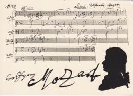 PARTITON DE MUSIQUE - MUSICALE AMADEUS MOZART - SYMPHONIE JUPITER - Musique Et Musiciens