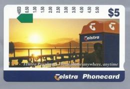AU.- Telstra Phonecard $5. Telstra Payphones . Australia AUSTRALIË. 0124586207 - Telefone