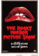 Affiche De Film - The ROCKY HORROR PICTURE SHOW - Bouche - Affiches Sur Carte