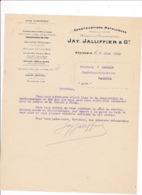 Courrier 1911 Constructions Métalliques Jay, Jallifier & Cie, Grenoble, Usine Chemin Des 120 Toises - Frankreich