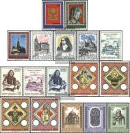 Vatikanstadt 615-631 (complete Issue) Volume 1973 Completeett Unmounted Mint / Never Hinged 1973 Copernicus, PrAgue, Con - Vatican