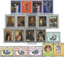 Vatikanstadt 577-595 (complete Issue) Volume 1971 Completeett Unmounted Mint / Never Hinged 1971 PAintings, AirmAil, Hun - Vatican