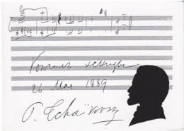 PARTITON MUSICALE ET DE MUSIQUE - PIOTR TCHAÏKOWSKI - SYMPHONIE LA BELLE AU BOIS DORMANT - Musica E Musicisti