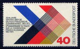 RFA - 603** - COOPERATION FRANCO-ALLEMANDE - [7] West-Duitsland