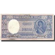 Billet, Chile, 5 Pesos = 1/2 Condor, KM:119, TB - Chili