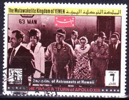 Jemen (Königreich Jemen) - Rückkehr Der Besatzung Von Apollo 13 (MiNr: 899) 1969 - Gest Used Obl - Yemen
