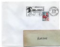VAL De MARNE - Dépt N° 94 CACHAN Ppal 1966 = FLAMME Codée = SECAP  ' N° De CODE POSTAL / PENSEZ-Y ' - Zipcode