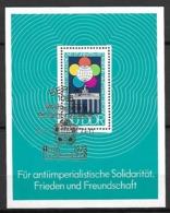 ALLEMAGNE  /  DDR    -     1973  .  Bloc-feuillet .  Y&T N° 33 Oblitéré - [6] Oost-Duitsland
