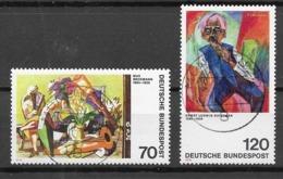 Germany/Bund Mi. Nr.: 822 - 23 Vollstempel (brv75er) - BRD