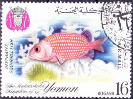 Jemen (Königreich Jemen) - Fische (MiNr: 399) 1967 - Gest Used Obl - Yemen