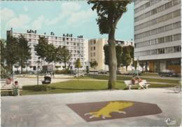 LE 24-(91) RIS ORANGIS - LES RESIDENCES - AVENUE DE LA GARE - CARTE COULEURS - 2 SCANS - Ris Orangis