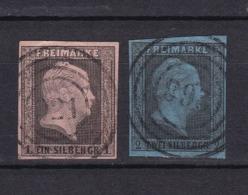 Preussen - 1850 - Michel Nr. 2/3 - Gest. - 40 Euro - Preussen