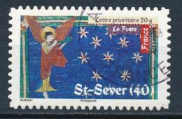 France - Art Roman - St-Sever YT A457 Obl. Cachet Rond Manuel - Francia