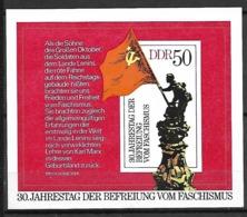 ALLEMAGNE  /  DDR    -     1975  .  Bloc-feuillet .  Y&T 37 ** .  30 ° Anniversaire De La Libération. - [6] Oost-Duitsland