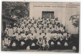 CPA Asie : Cochinchine - SAIGON - Union Chrétienne De Jeunes Gens - Ed. Société D'évangélisation Des Colonies - Vietnam