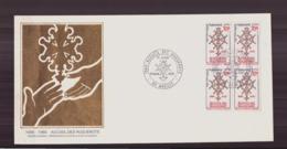 """France FDC Du 31 Août 1985 à Anduze """" Accueil Des Huguenots """" - FDC"""