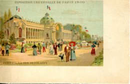 CPA - PARIS - EXPO UNIVERSELLE 1900 - PETIT PALAIS DES BEAUX ARTS - Exhibitions