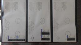 Dispersion D'une Collection D'enveloppe 1er Jour Et Autres Dont 87 De HOLLANDE Dans Un Très Beau Classeur. - Stamps