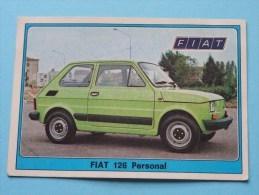 FIAT 126 Personal () Super AUTO ( 117 ) Ed. Panini Modena ( Zie Foto Voor Details ) ! - Panini