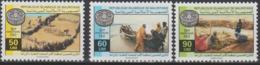 Mauritanie Mauretanien Mauritania 1995 Mi. 1029-1031 50e Anniversaire FAO 50th Anniversary Ernährung - Contro La Fame