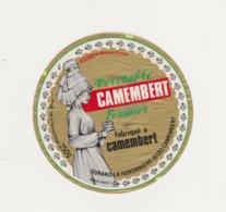 ETIQUETTE DE CAMEMBERT DURAND CAMEMBERT - Cheese