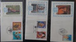 Dispersion D'une Collection D'enveloppe 1er Jour Et Autres Dont 111 Sur Le Thème De L'enfant (UNICEF) - Collezioni (in Album)