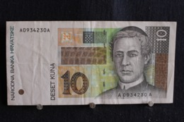 110 /  Croatia-Hrvatska 10  Kuna  1995 /  N° A 0934230 A - Croatie