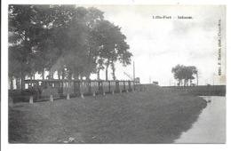 Lillo-Fort - Inkoom - Stoomtram. - Belgique
