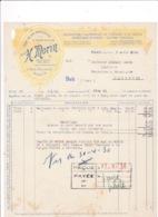 Facture 1930 Instruments De Précision Et De Dessin Ets H. Morin, 11 Rue Dulong, Paris - Frankreich