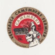 ETIQUETTE DE CAMEMBERT  DELORME CAMEMBERT - Cheese
