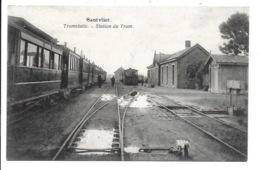Zandvliet - Tramstatie - Stoomtram. - Belgique