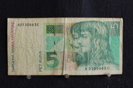 111 /  Croatia-Hrvatska 3  Kuna  1993 /  N° A 0130463 C - Croatie